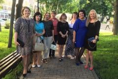 Перед концертом в Петровском парке